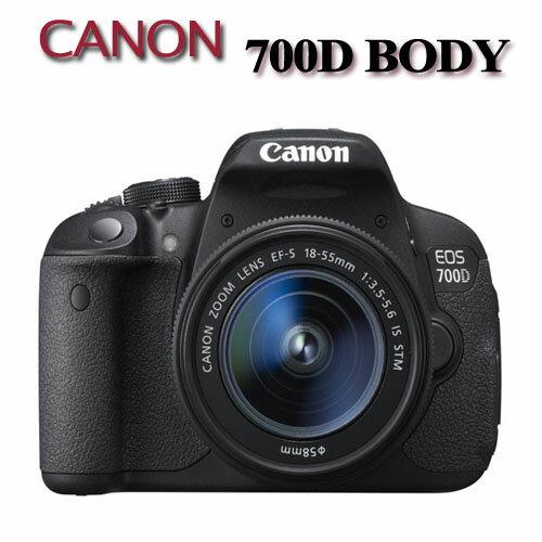 【現金優惠價★】Canon 700D BODY 700D 單機身【中文平輸】