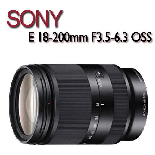 【★送KENKO 62mm REAL PRO MC 防潑水多層鍍膜保護鏡】SONY E 18-200mm F3.5-6.3 OSS 【平行輸入】