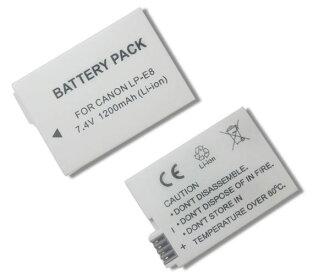 Canon LP-E8  LPE8 高容量防爆鋰電池 副廠品質有保障 550D 600D 650D 700D