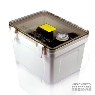 濕度監控 防潮箱(小) - MT-027A【 溼度監控  含溼度計 】★買就送2入乾燥劑 適用於 相機 手機 鏡頭