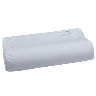 Combi康貝 - 小魚銀纖乳膠兒童枕 -藍 (附替換枕套)