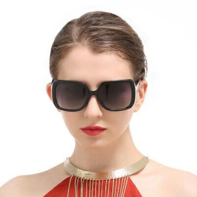 墨鏡簡單拼接潮經典時尚大框太陽眼鏡【KS9257】BOBI0315
