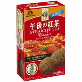 有樂町進口食品 日本零食 森永午後紅茶]餅乾(10枚入盒裝) 4902888225529