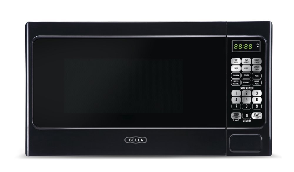 Bella Microwave Oven 700 Watt Compact Digital 0.7 Cubic Foot 0