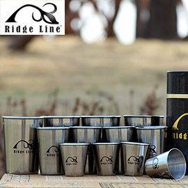 【【蘋果戶外】】Ridge Line 001517 韓國 不鏽鋼套杯12件組 高級不鏽鋼所制/耐高溫/堅固/容易清洗