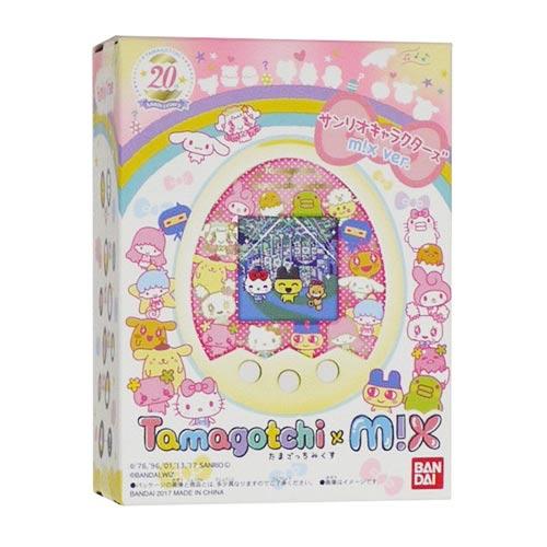 【日本進口】Tamagotchi Mix 塔麻可吉Mix 20周年紀念 三麗鷗角色 寵物機 電子雞 BANDAI - 040606