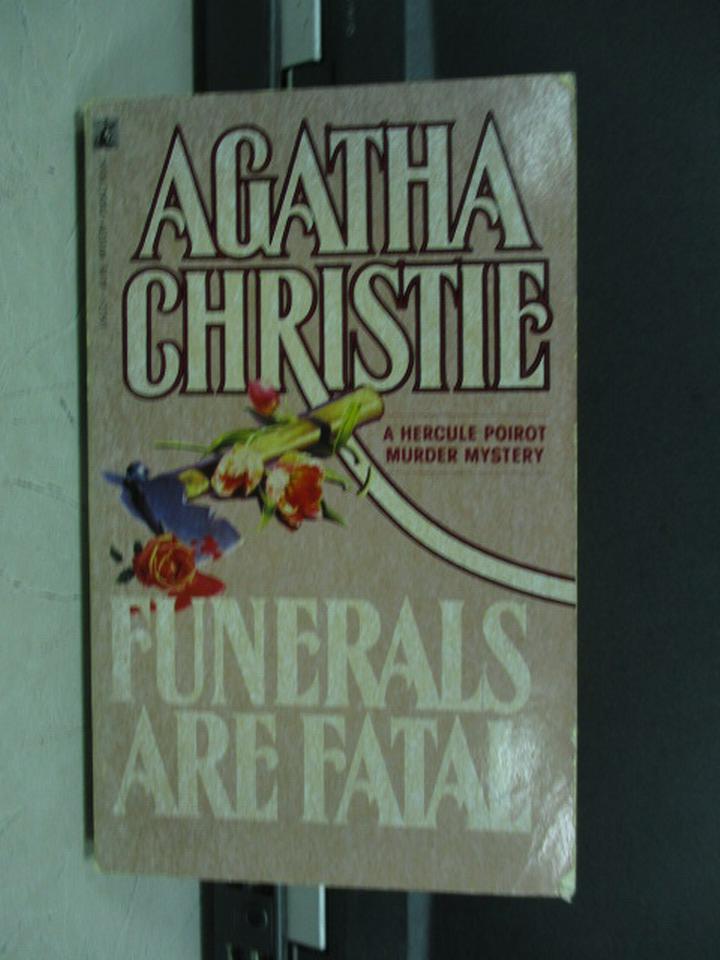 【書寶二手書T2/原文小說_KQB】Funerals are Fatai_Agatha Christie