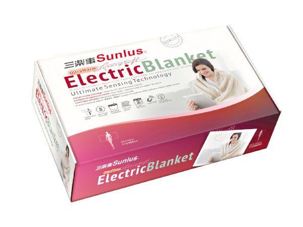 安康藥妝:【SUNLUS三樂事】隨意披蓋電熱毯SP2405BR(60cmX140cm)