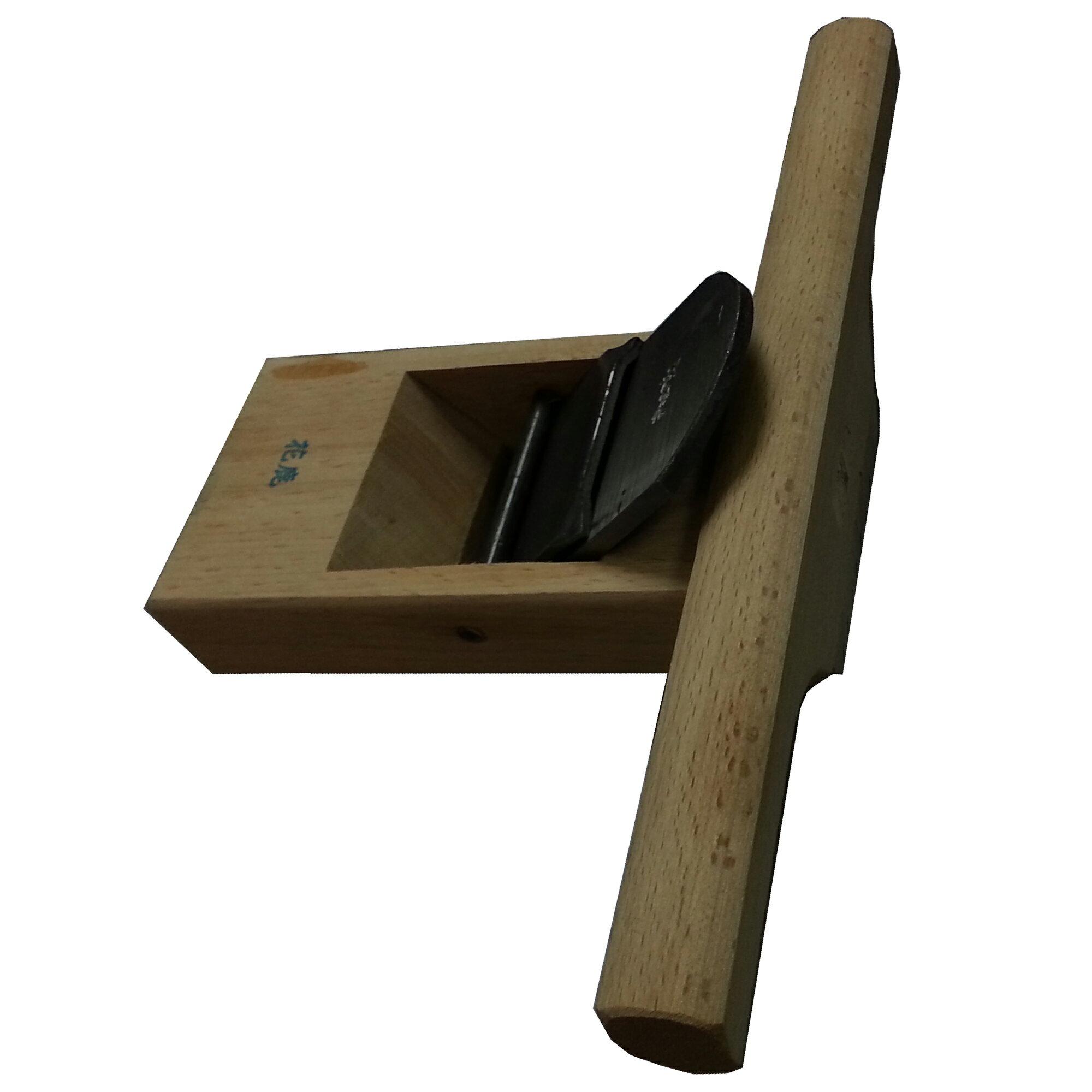 方鉋刀 8寸 寸八 短鉋刀 手刨刀 木工鉋 賊鉋 約15x24x7cm N8010545