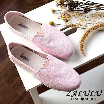 ZALULU愛鞋館 MN1002 現貨絕搭自信。色彩套腳平底休閒包鞋-多色-36-40 4