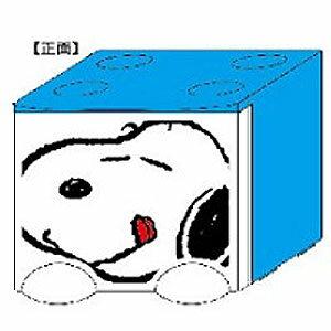 【真愛日本】17110200024 積木抽屜立體收納盒-SN藍new 史努比 SNOOPY 日用品 收納盒
