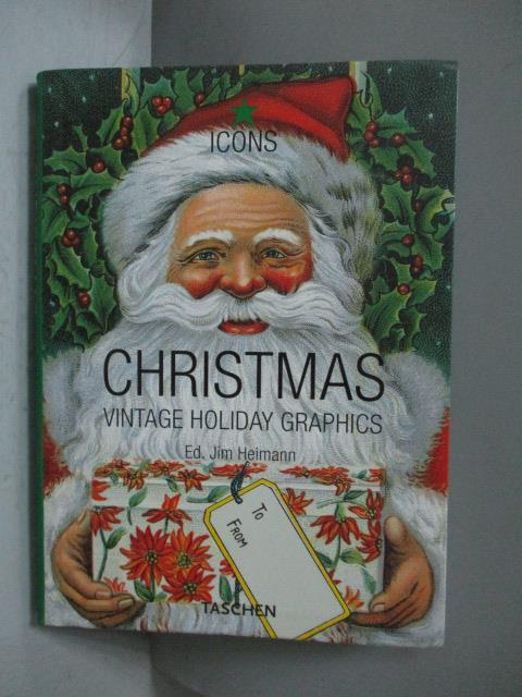【書寶 書T5/藝術_NKN】Vintage Christmas-Vintage Holiday Graphics_