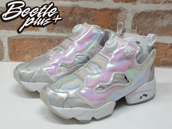 女鞋 BEETLE REEBOK PUMP FURY x DISNEY 灰姑娘 迪士尼 V65831 22.5CM 1