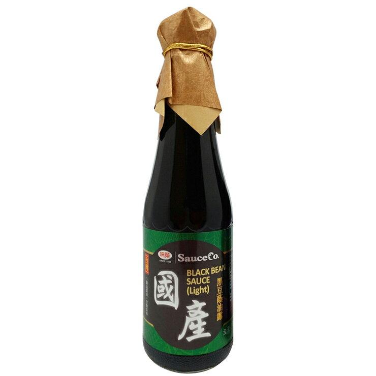 【味榮】國產黑豆蔭油膏+油露320ml 2