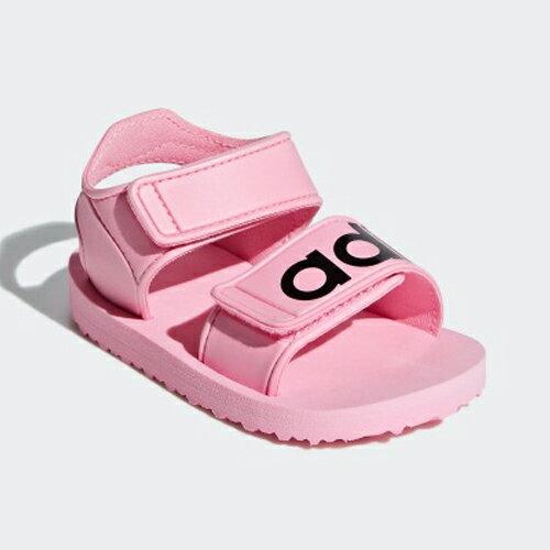 ADIDAS BEACH SANDAL I 童鞋 小童 涼鞋 休閒 魔鬼氈 粉【運動世界】CG6602