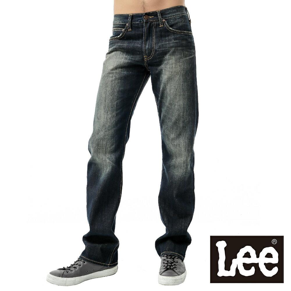 Lee 730中腰舒適小直筒牛仔褲