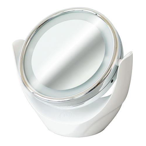 [滿3千,10%點數回饋]WETOP雙面LED放大旋轉美妝鏡SP-1813*100入**免運費**