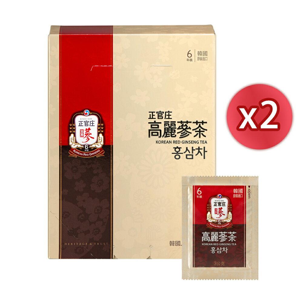 【點數回饋20%】【正官庄】高麗蔘茶50包x2盒
