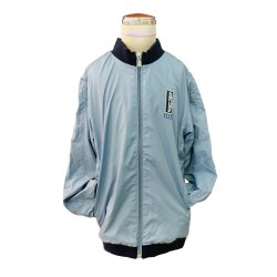 【ELLE】兒童休閒運動外套 (藍)140公分【合康連鎖藥局】