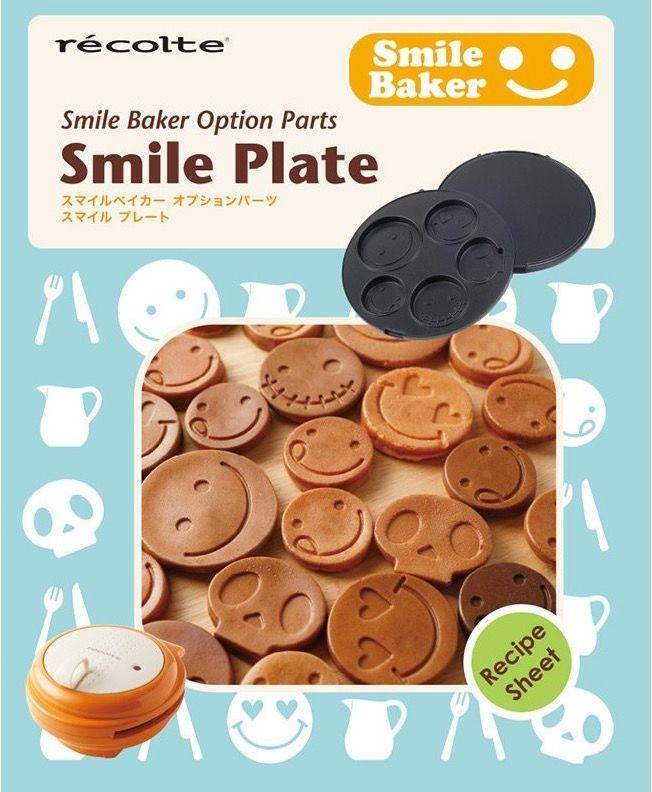 【This-This】récolte |日本麗克特 微笑鬆餅機 專用烤盤(最幸福的微笑烤盤)