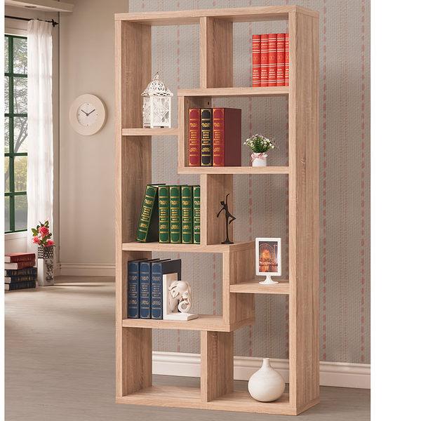 厚板造型隔間櫃 (淺木紋色 ) 書櫃 / 置物櫃 / 收納櫃 & DIY組合傢俱