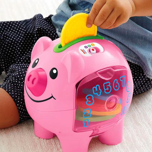 【限量特價】Fisher-Price 費雪 智慧學習小豬撲滿【悅兒園婦幼生活館】 2
