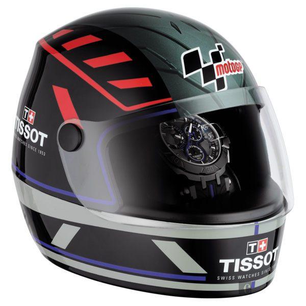 全球限量5000只 TISSOT 天梭 T-RACE MOTOGP 2017限量版賽車錶-黑x藍 / 45mm T0924173706100 7