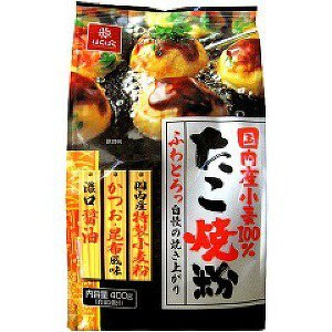 Hakubaku章魚燒粉(400公克)  /  大阪燒粉  /  廣島燒粉  /  4902571221159 - 限時優惠好康折扣