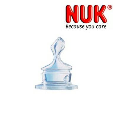 六甲媽咪親子生活館:NUK透氣矽膠奶嘴,初生型大圓洞【六甲媽咪】