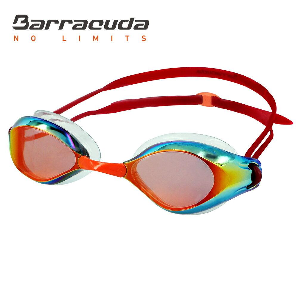 美國巴洛酷達Barracuda成人廣角抗UV防霧電鍍泳鏡 LIQUID WAVE#91410 0