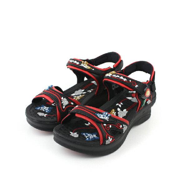 G.P 涼鞋 黑紅 女款 no620 0