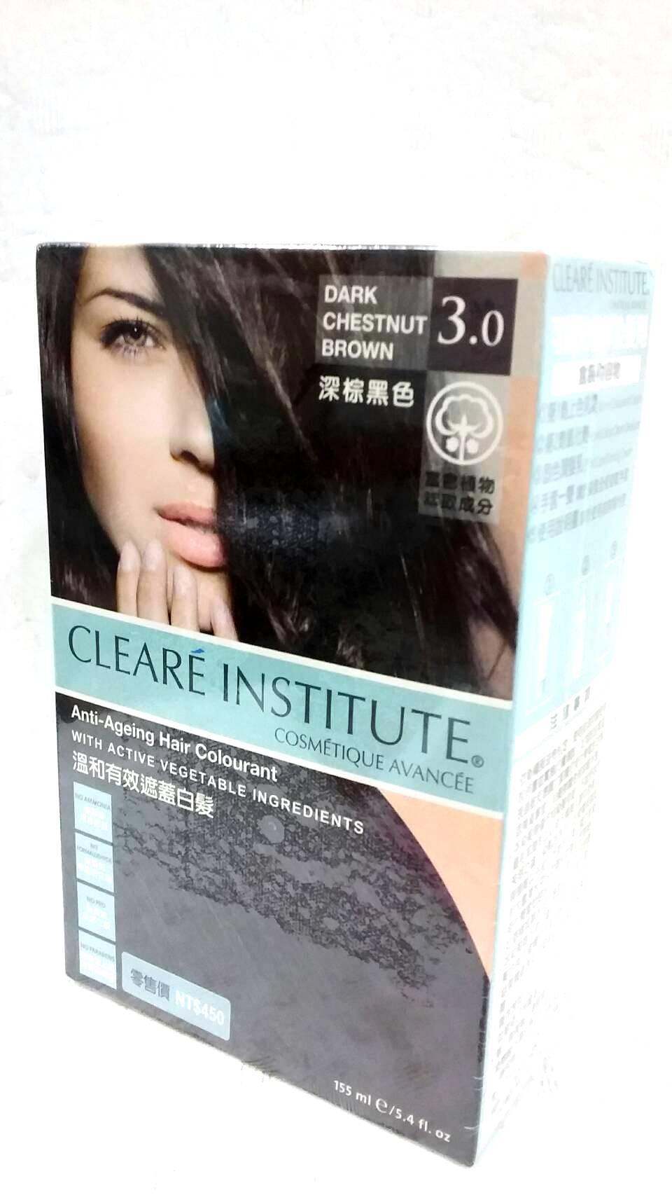 CLEARE INSTITUTE~可麗兒植萃染髮劑3.0 深棕黑色