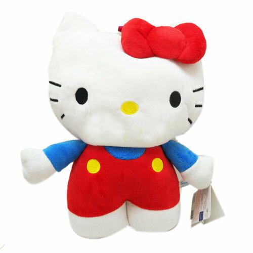 【真愛日本】13121800024 防走失後背包-KT全身紅衣 三麗鷗 Hello Kitty 凱蒂貓 造型背包 正品