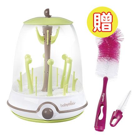 【悅兒樂婦幼用品?】babymoov 電動蒸氣消毒鍋【買就送babymoov2合1奶瓶奶嘴刷1入】