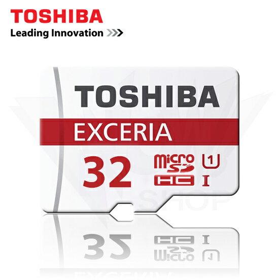 TOSHIBA 東芝 32GB EXCERIA 超高速 micro SD HC 記憶卡 UHS-I U1 48 MB/s