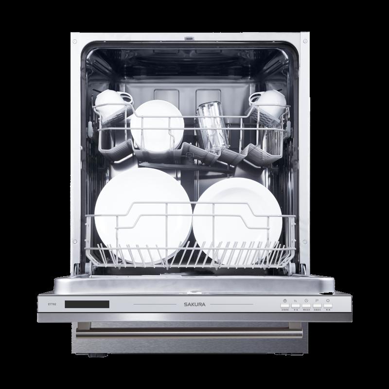 櫻花全嵌式洗碗機/E7782