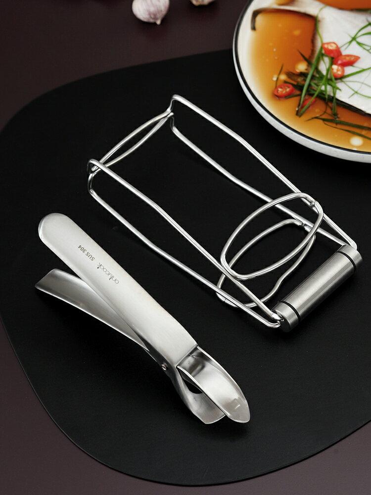 onlycook 304不銹鋼夾碗器廚房防燙夾取碗 家用蒸菜夾 提盤器神器