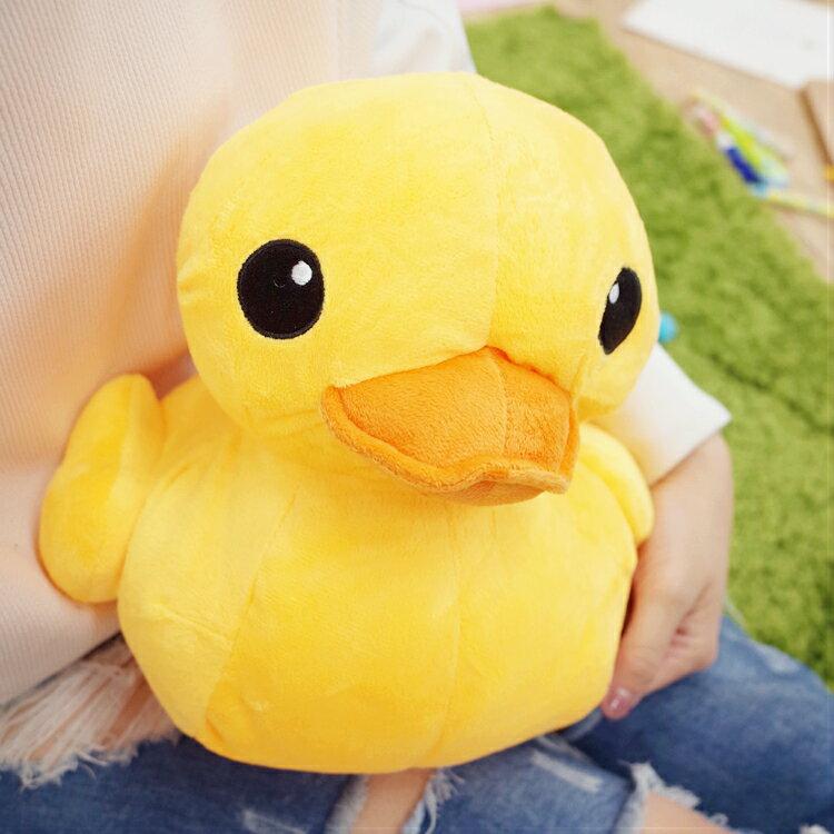 PGS7 日本卡通系列商品 - 黃色 小鴨 大黃鴨 Duck 娃娃 抱枕 玩偶【SJB7334】