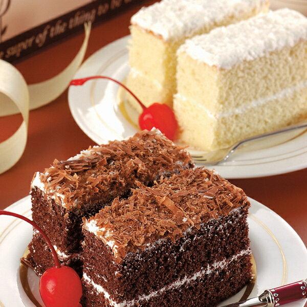 【精緻西點】奇美 30片綜合小蛋糕(香草+巧克力)(奶蛋素)