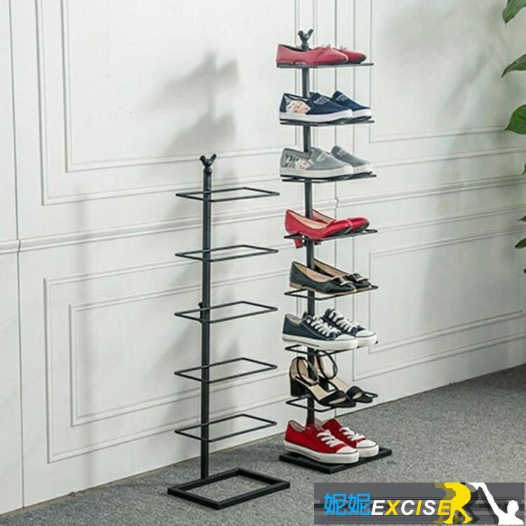 樂天優選 鞋架多層簡易門口家用經濟型多功能簡約宿舍防塵兒童收納鞋架子