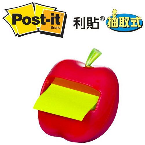 3M APL-330 蘋果造型抽取式便條台 / 個