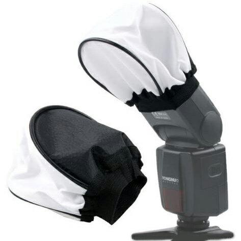 【省錢博士】相機閃光燈柔光罩/閃光燈布罩 攝影器材配件 (1入)