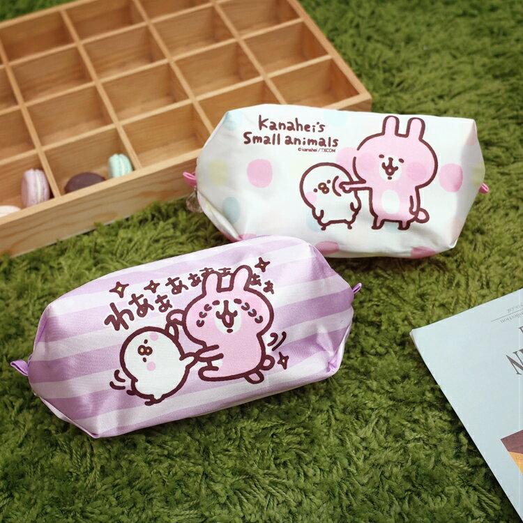 PGS7 卡娜赫拉系列商品 - 卡娜赫拉 Kanahei 緞面 筆袋 化妝包 兔兔 P助【SIM71025】