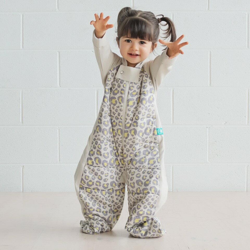 澳洲【ergopouch】2way 有機棉褲型防踢被-豹紋 (2.5TOG 冬天專用) 2