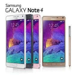 【SAMSUNG】【福利品】GALAXY NOTE 4 N910U 智慧型手機(32G)螢幕烙印,加贈玻璃貼  4G上網