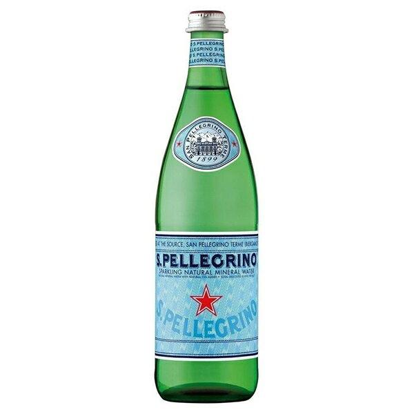 氣泡水 S.Pellegrino聖沛黎洛 天然氣泡礦泉水 1000mlx12入 限宅配 義大利進口 水 礦泉水 氣泡水