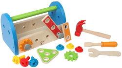 德國 Hape愛傑卡 組裝建構系列 工具箱