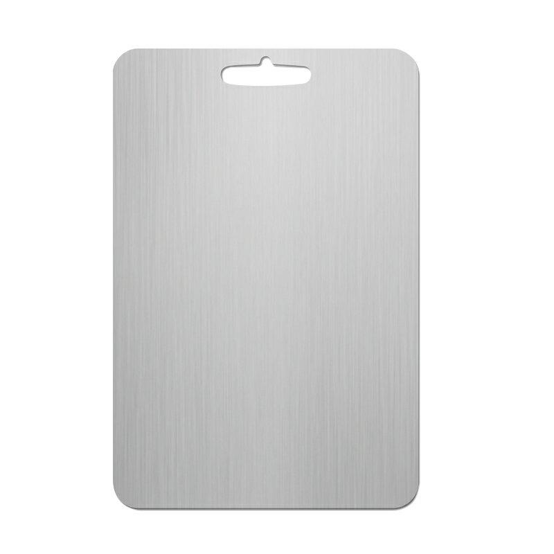 304不鏽鋼防霉抗菌砧板25x36cm 拉絲拋光不刮傷防腐蝕案板 廚房切菜板 桿麵板和面板【ZJ0210】《約翰家庭百貨 好窩生活節 1