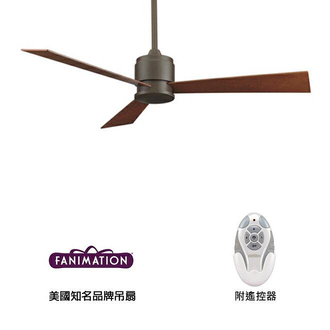 [top fan] Fanimation Zonix #FP4620OB 54英吋 三葉吊扇附遙控器-油銅色