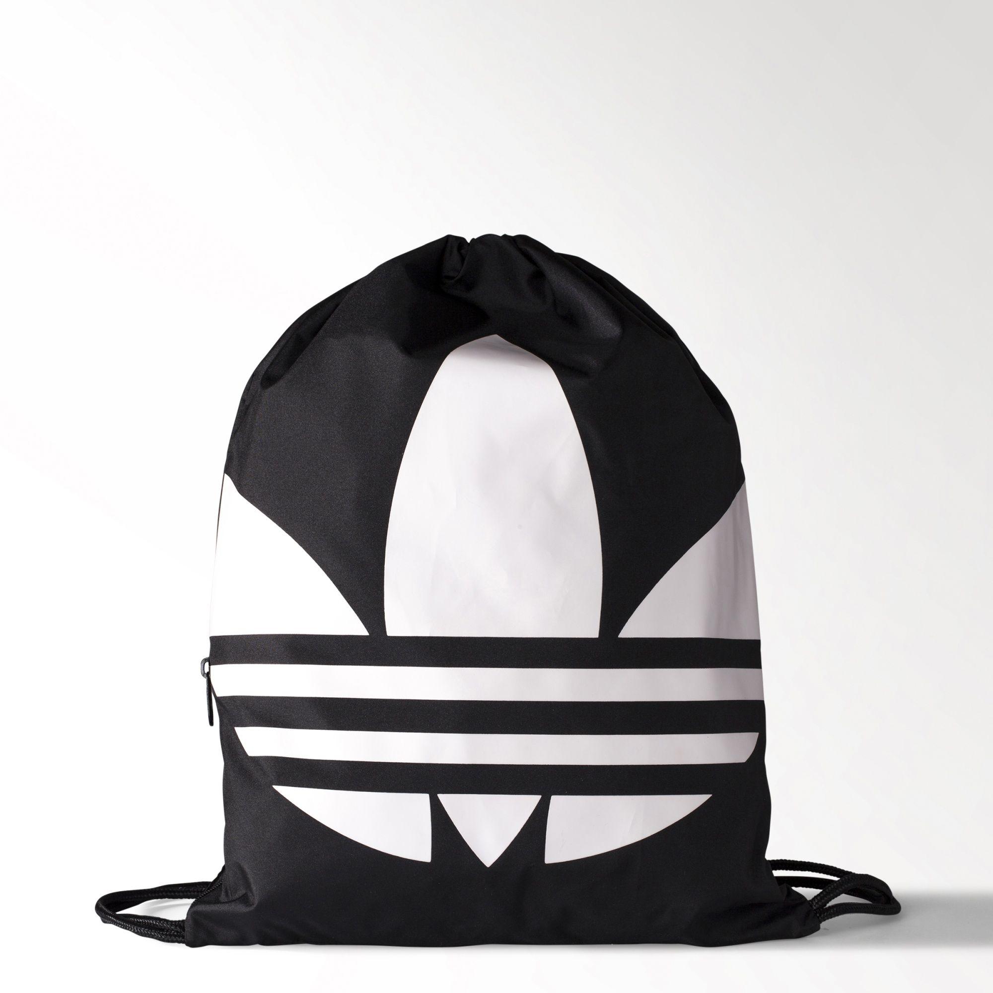 ADIDAS Originals Gymsack Trefoil 背包 束口袋 手提 基本款 黑 【運動世界】AJ8986